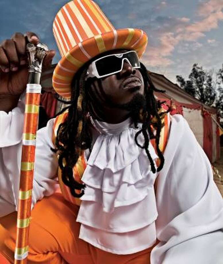 T-Pain's synthesized vocals can be found in many songs these days. Photo: DEAN KARR