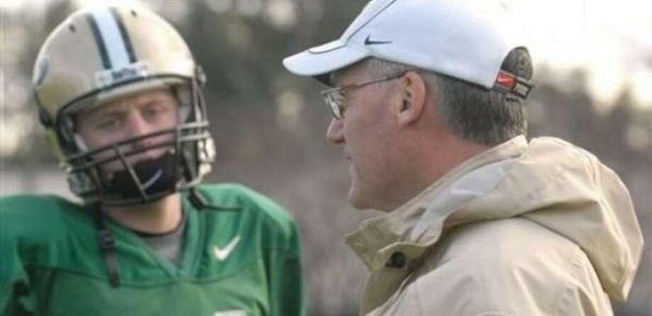 Zaunbrecher will name John Thomas Shepherd, Nick Fanuzzi or Ryan Lewis as Rice's next quarterback. Photo: Phelan M. Ebenhack, Associated Press