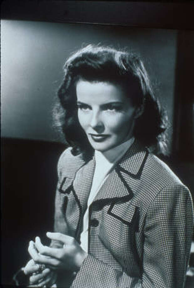 Katharine Hepburn, who was born 100 years ago yesterday, won an astounding four best-actress Oscars. Photo: LIFETIME