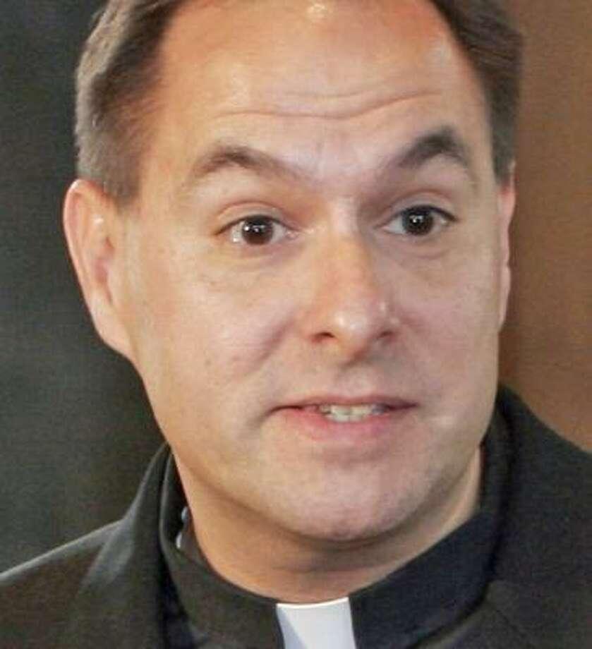 The Rev. Bradley Schmeling, 44, was chosen as his church's pastor in 2000. Photo: GENE BLYTHE, ASSOCIATED PRESS