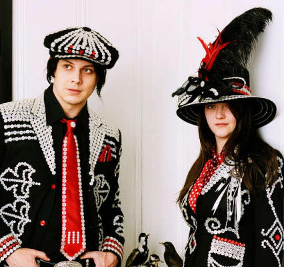 The White Stripes' new album is called Icky Thump. Photo: Autumn De Wilde