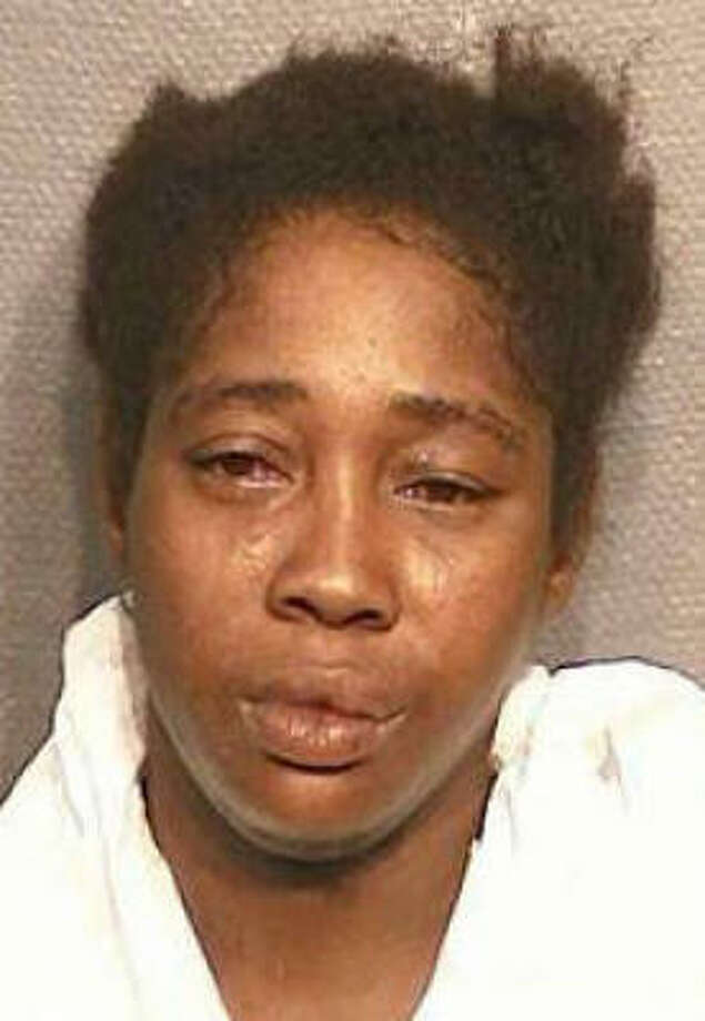 Deborah Yvette Parker is accused of shooting her common-law husband,  Broderick Craig Crachian. Photo: Harris County Sheriff's Office