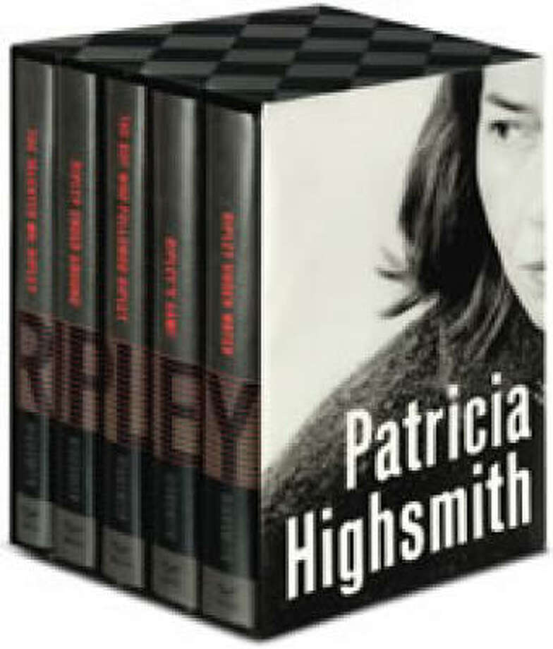 Boxed edition of The Complete Ripley Novels by Patricia Highsmith. Photo: Norton