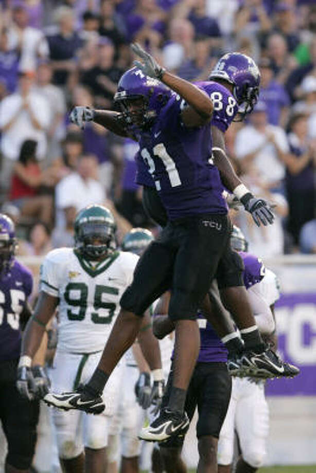 With three 11-win seasons since 2003, TCU can draw more attention to its program with an upset win over the Longhorns. Photo: Donna McWilliam, AP