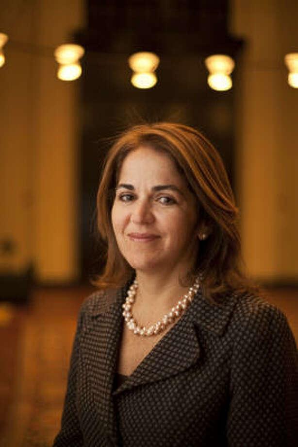 Erika de la Garza es directora de la Iniciativa Latinoamericana del Instituto Baker de Políticas Públicas, lidera investigaciones y organiza eventos para divulgar información sobre América Latina. Photo: Nathan Lindstrom, Para La Voz