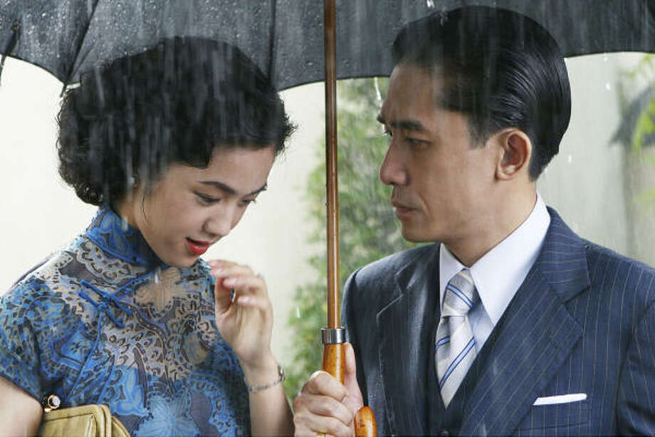 Tang Wei, left, and Tony Leung star in Ang Lee's epic drama, Lust, Caution. Photo: Focus Features