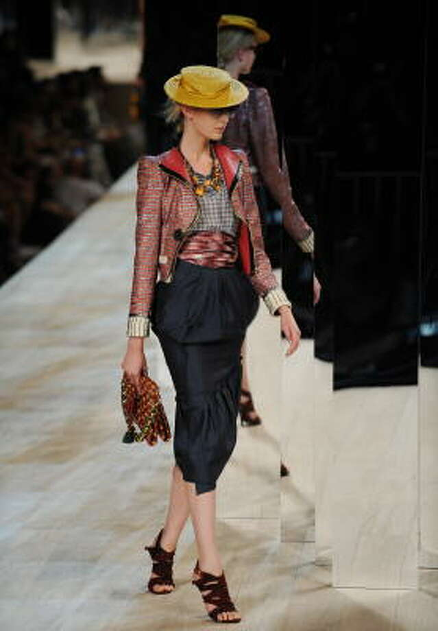 The Marc Jacobs spring 2009 collection Photo: STAN HONDA, AFP | Getty Images