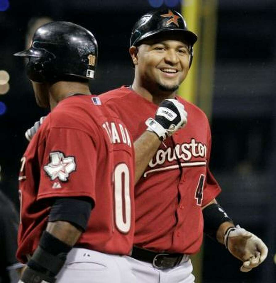 Astros slugger Carlos Lee will play for Panama in the World Baseball Classic in March. Photo: Gene J. Puskar, AP