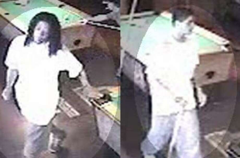 These two men are suspected in a Sugar Land robbery on Sunday. Photo: Sugar Land PD