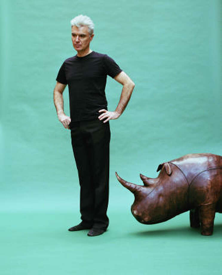 David Byrne has chosen a route more intriguing than had he continued with Talking Heads after Naked, an album whose title suggested things had reached a point of vulnerability or embarrassment. Photo: Chris Buck