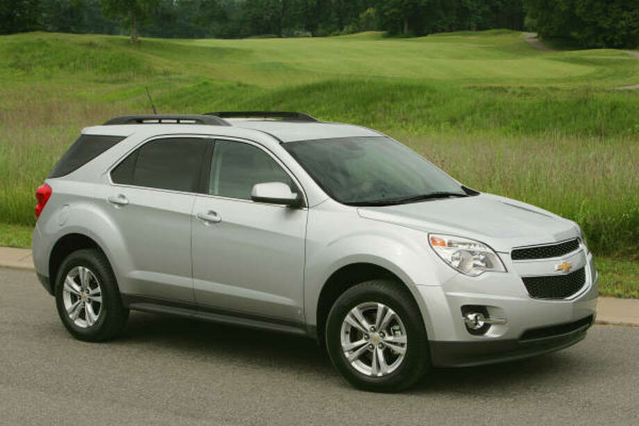 GM's new 2010 Chevy Equinox is powered by a four-cylinder direct-injected Ecotec engine. Its estimated highway fuel economy is 32 miles per gallon. Photo: Wieck