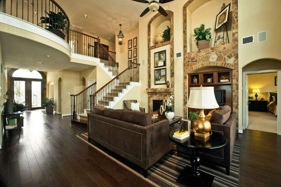 Ashton Woods is an Environments for Living and Energy Star builder. Pictured is Ashton Woods' Laurel model in Riverstone.