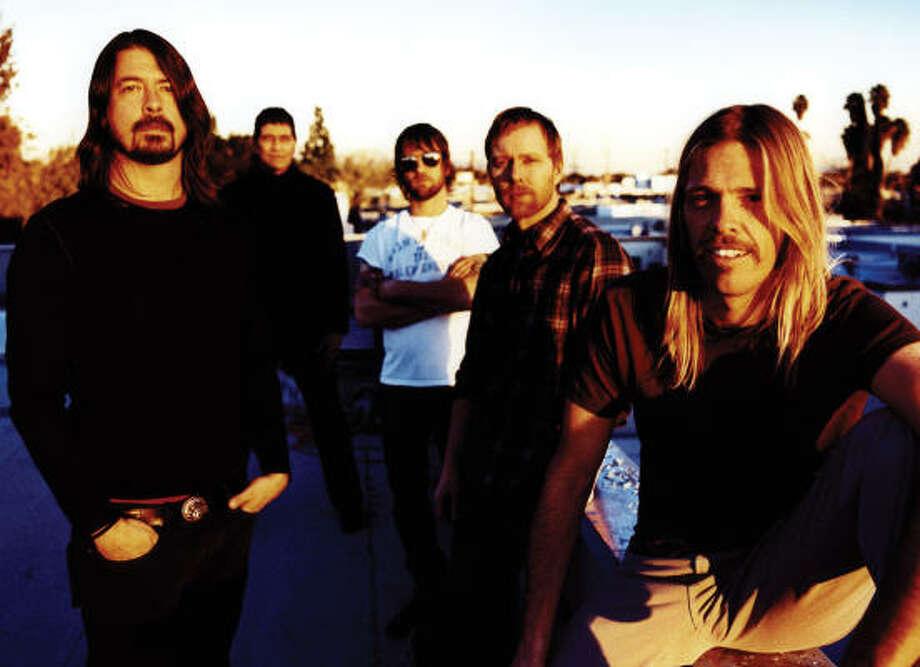 Foo Fighters Photo: Steve Gullick