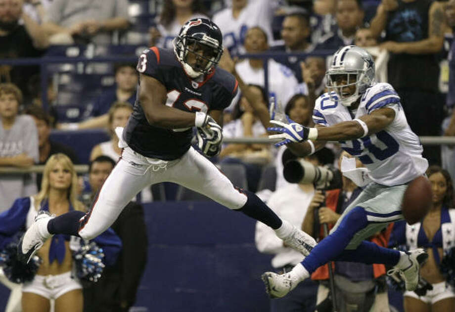 The Texans will host the Cowboys at Reliant Stadium during the regular season. Photo: Brett Coomer, Chronicle