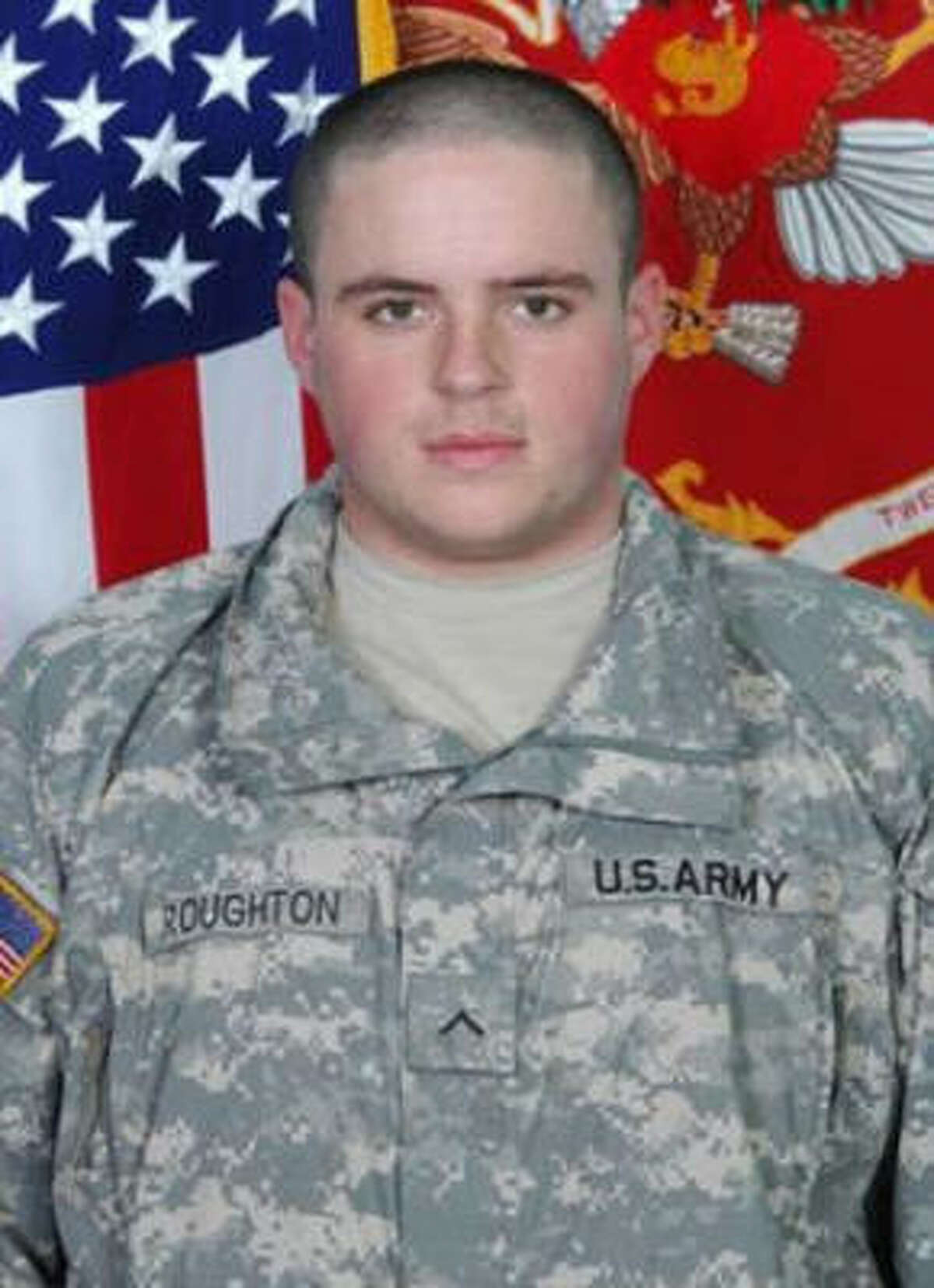 Andrew Roughton left a college scholarship and joined the Army.