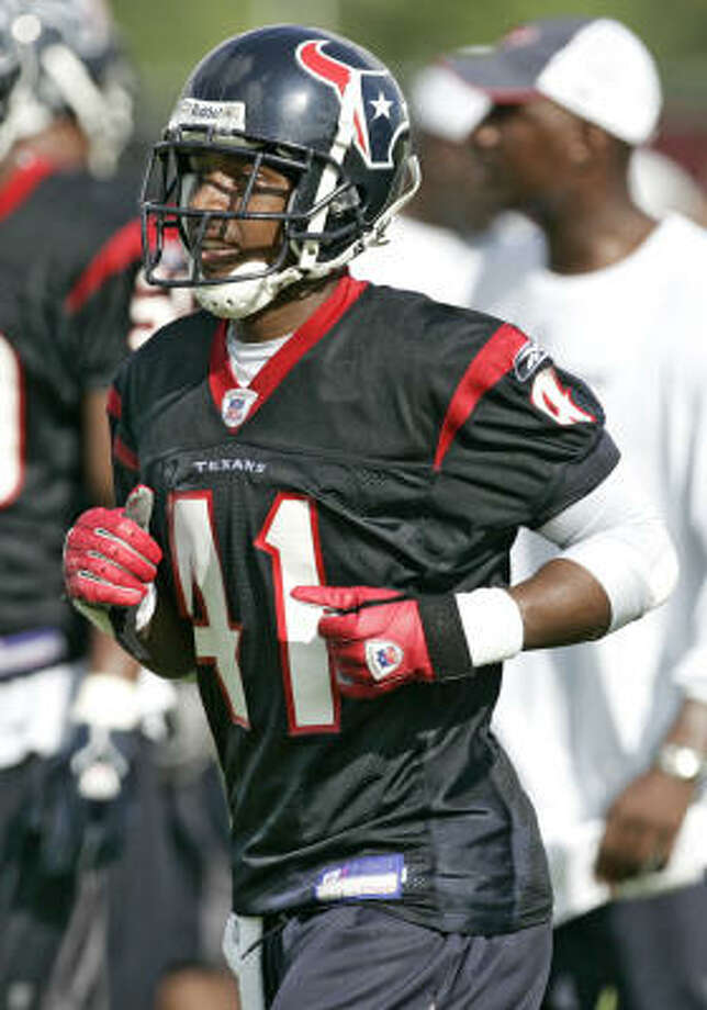 Tramon Williams was waived by the Texans in 2006. Photo: BRETT COOMER, Chronicle