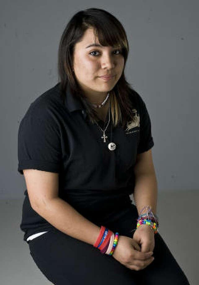 Estefany Saracay Photo: James Nielsen, La Voz
