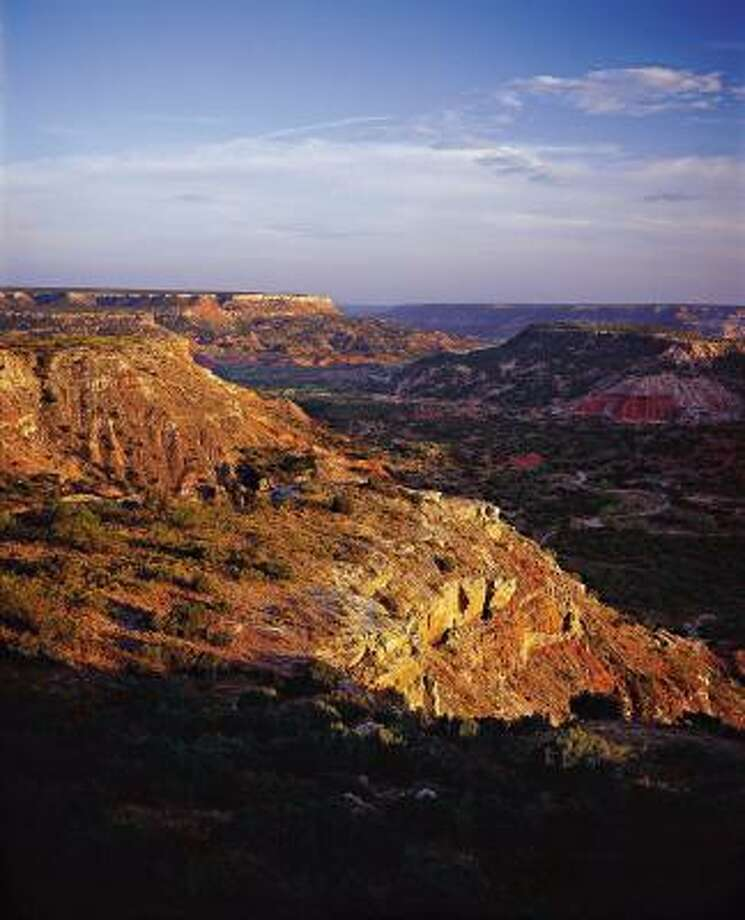 Palo Duro Canyon, now a Texas state park near Amarillo, once served as subject and inspiration for legendary artist Georgia O'Keeffe. Photo: SOUTHERN LIVING