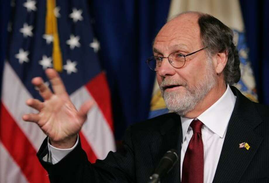 New Jersey Gov. Jon S. Corzine remained in critical but stable condition Tuesday and doctors were assessing when he might be ready to breathe without a ventilator. Photo: Mel Evans, AP