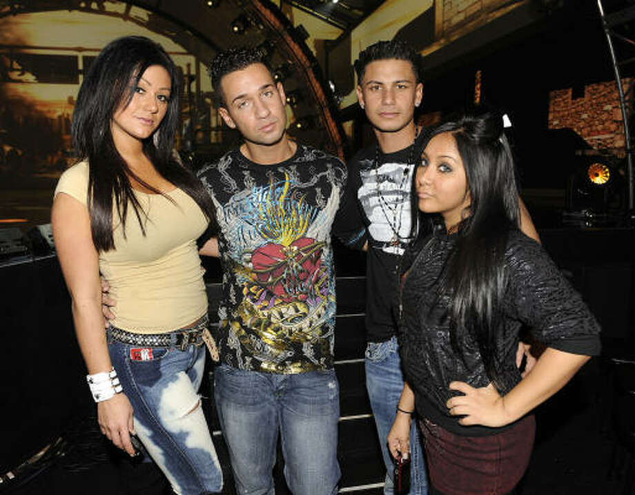 """Snooki & JWOWW"" is a  ""Jersey Shore"" spinoff that mostly chronicles Snooki being pregnant. The Mayans were right about the end of the world coming.  Photo: Mark Davis, PictureGroup"