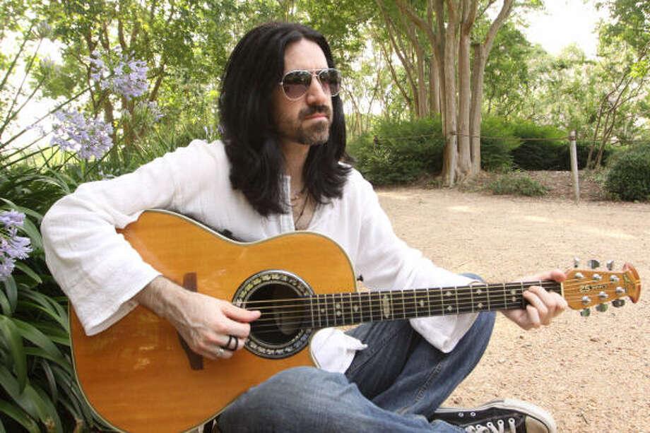 Espantapájaros: un rockero argentino en Texas. Photo: Bill Olive, Para La Voz
