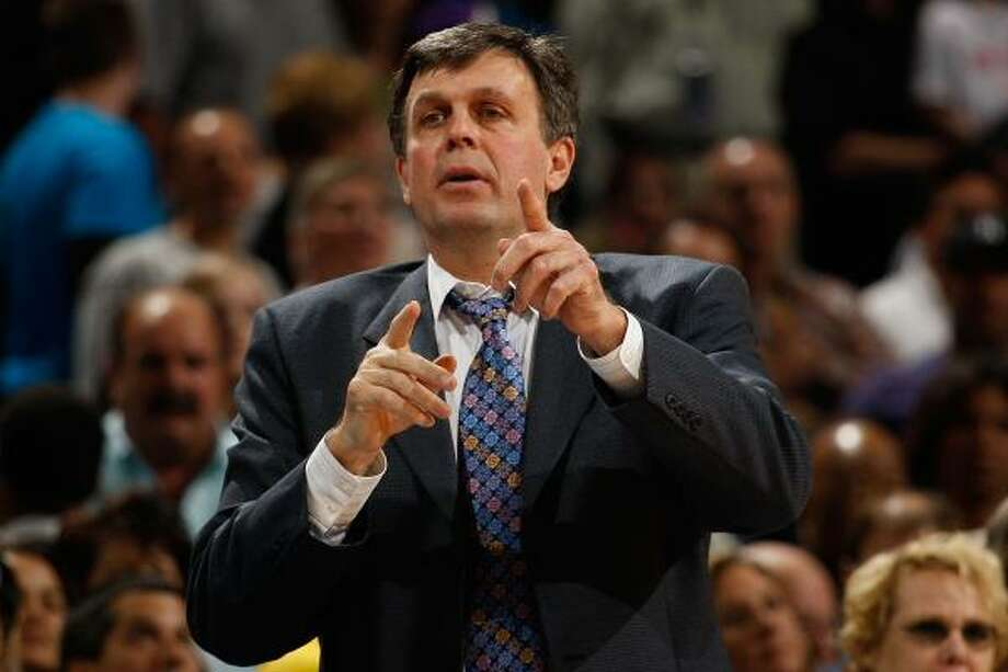 With every telephone call, the Rockets were more impressed with Kevin McHale. Photo: Chris Graythen, Getty Images
