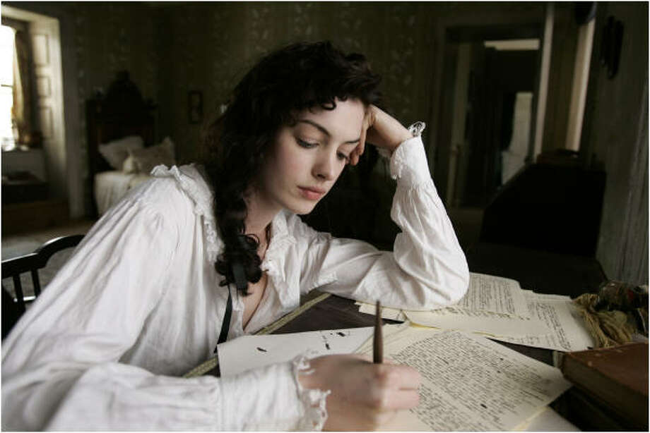 Anne Hathaway is Jane Austen in Becoming Jane. Photo: Courtesy Of Miramax Films