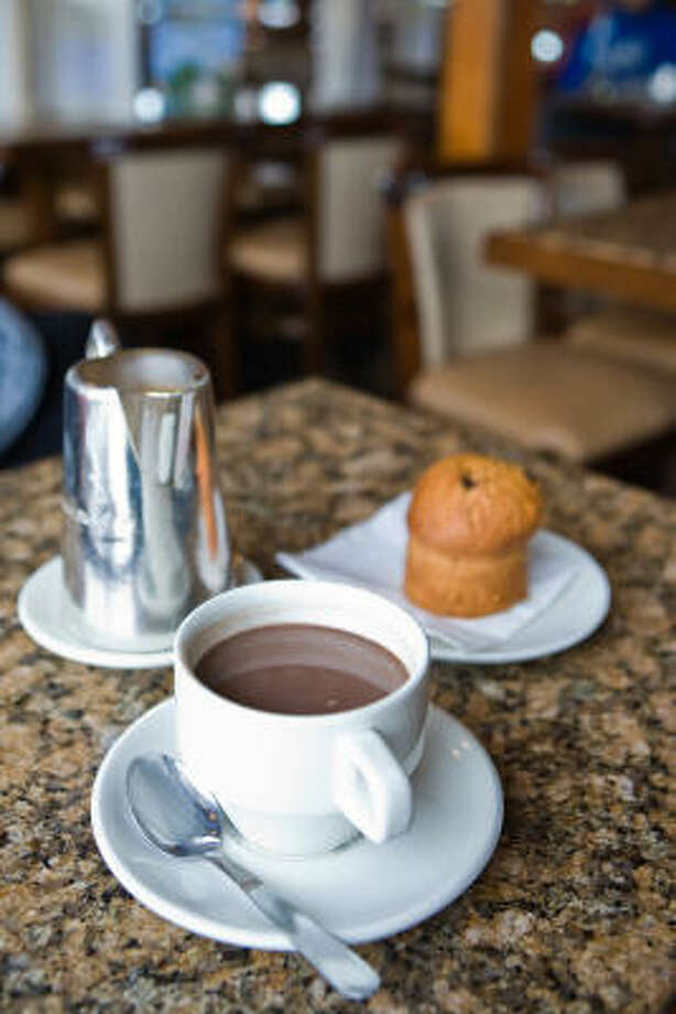 Mexican hot chocolate has a spicy flavor. Photo: RENAUD VISAGE :, Cocina