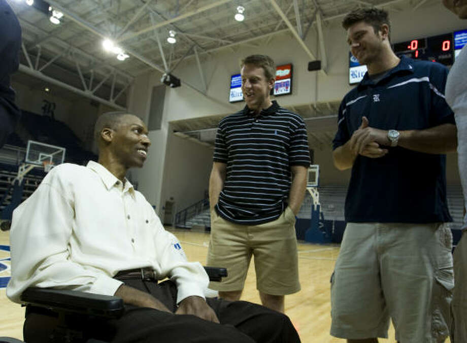 O.J Brigance is now an NFL executive. Photo: Brett Coomer, Chronicle