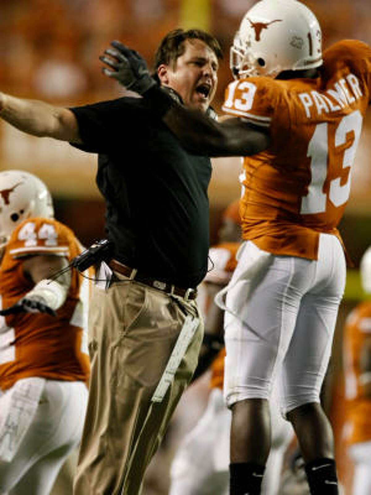 The Longhorns have responded to defensive coordinator Will Muschamp's high expectations and fiery demeanor.