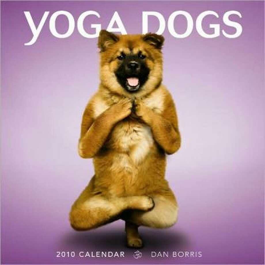 The Yoga Dogs calendar ($13.99)