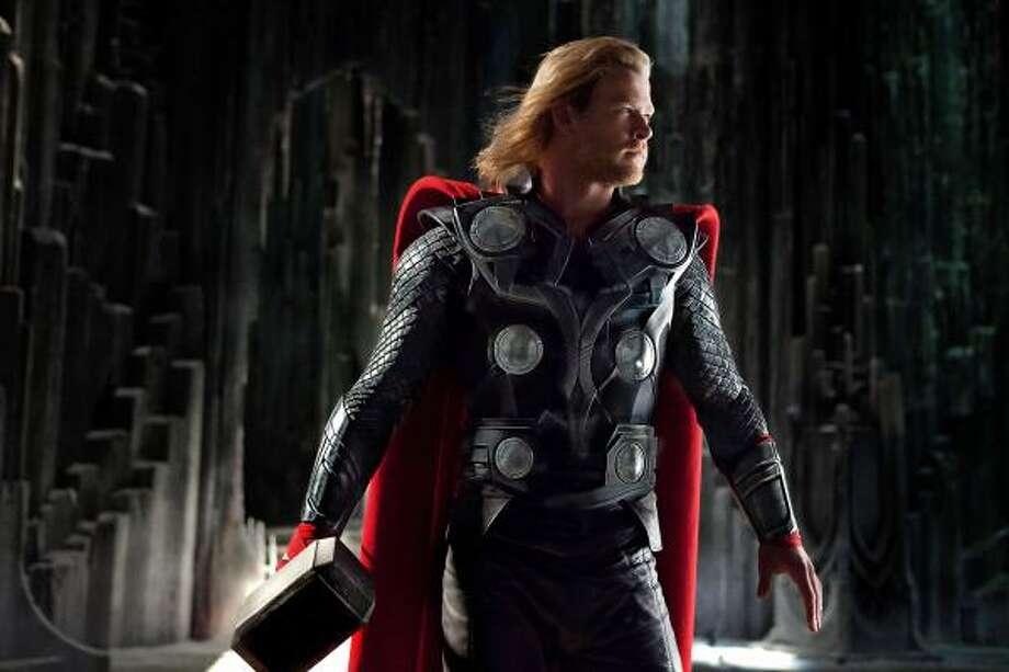 "Chris Hemsworth stars as the title character in ""Thor."" Photo: Mark Fellman | Marvel Studios"