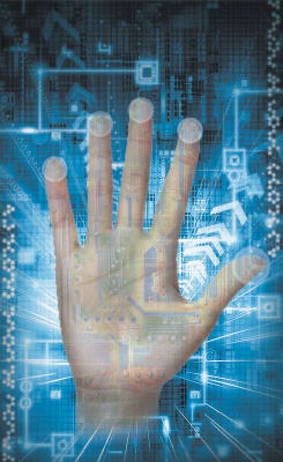 Innovation at our fingertips. Photo: Tanyia Johnson, Chronicle