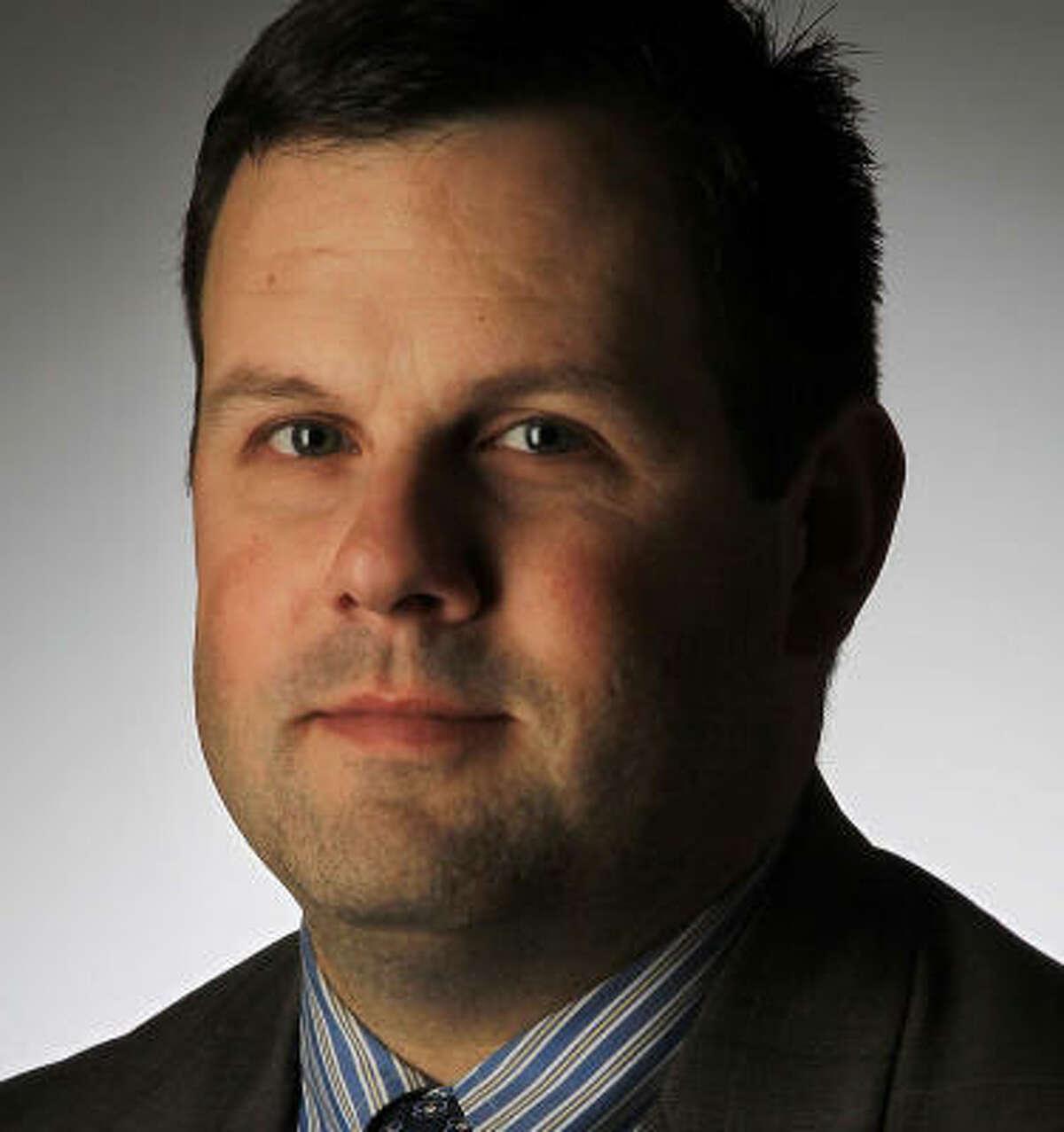 Noel Freeman leads the Houston GLBT Political Caucus.