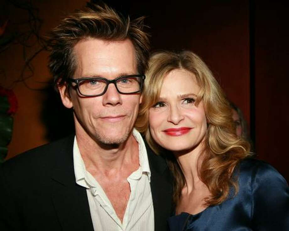 Kevin Bacon and Kyra Sedgwick.