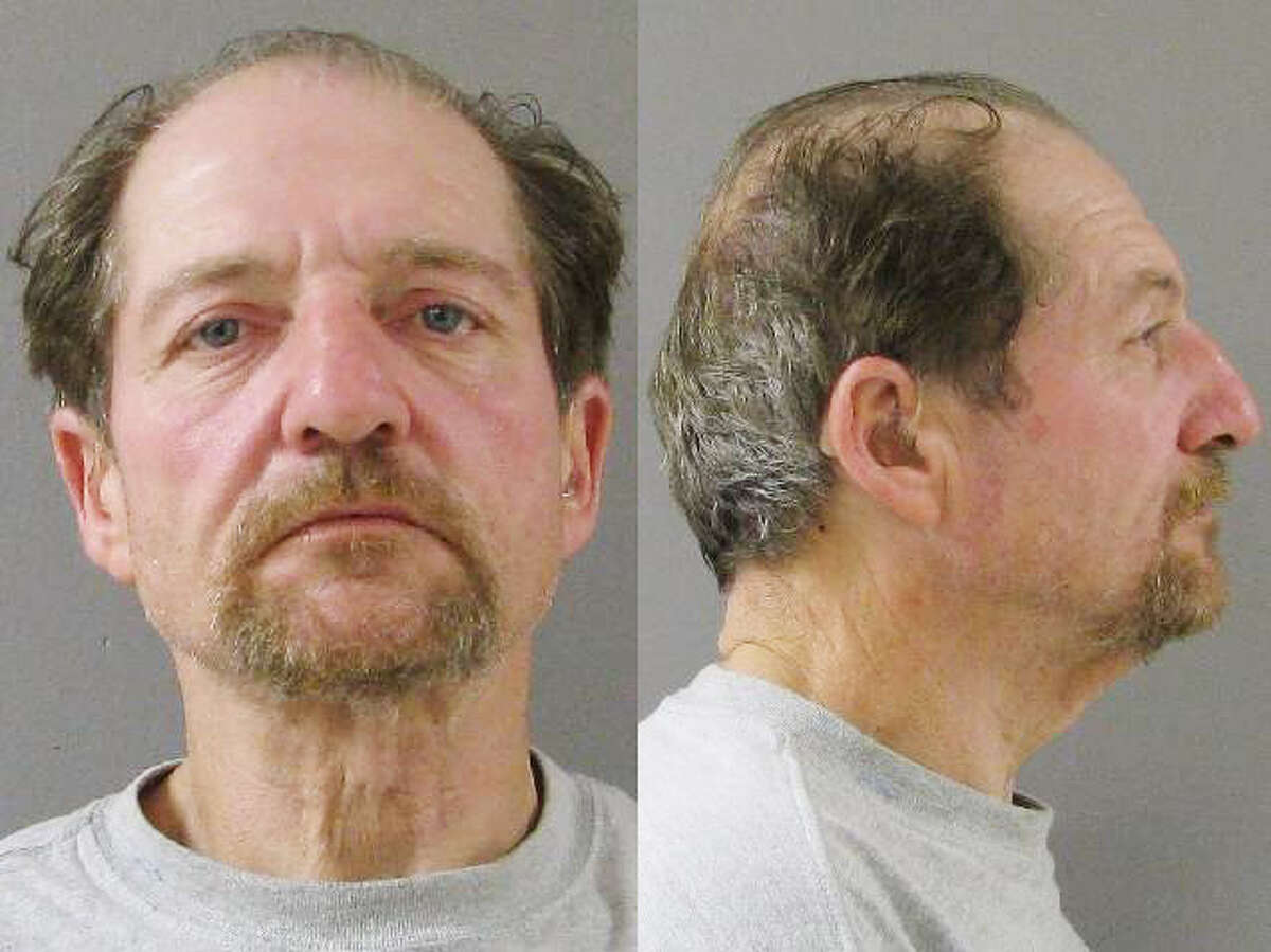 Anthony Sabato is pictured in a Wallingfor Police Department booking photo.