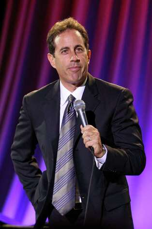 "Jerry Seinfeld - ""Mayor Bloomberg going with zip up neck sweater to fight Sandy. Shows