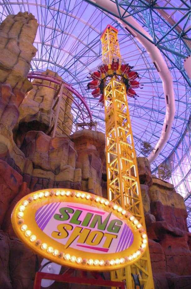 Adventuredome at Circus Circus Hotel in Las Vegas. 2/05 Photo: Brian Jones / handout
