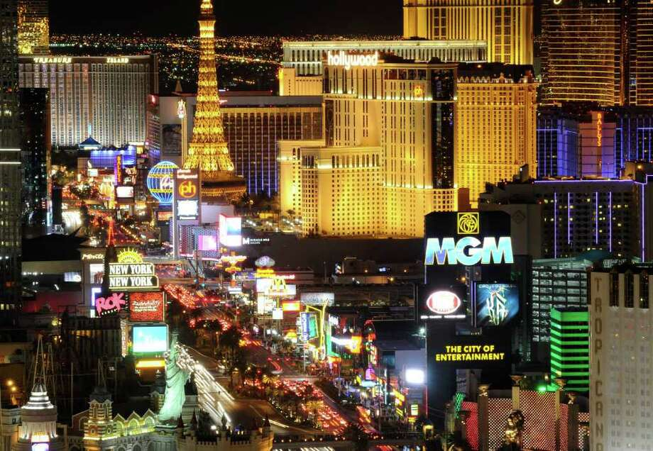 48. Las Vegas:An estimated 52 percent of renters are unable to afford a two-bedroom apartment at U.S. Department of Housing fair market rent. This rent requires an income of $42,560, 106 percent of median income. Photo: Ethan Miller, Getty Images / Getty Images North America