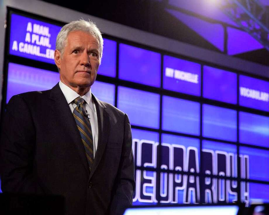 Earlier this week, Alex Trebek awoke to find a burglar in his San Francisco hotel room. The game show host chased down the thief, rupturing his Achilles tendon and injuring his leg in the process. Thanks to Trebek's efforts, the suspect was later apprehended. Trebek went on to fulfill his hosting duties at the National Geographic World Championship geography bee later that day. Photo: Ben Hider, Getty Images / 2011 Getty Images