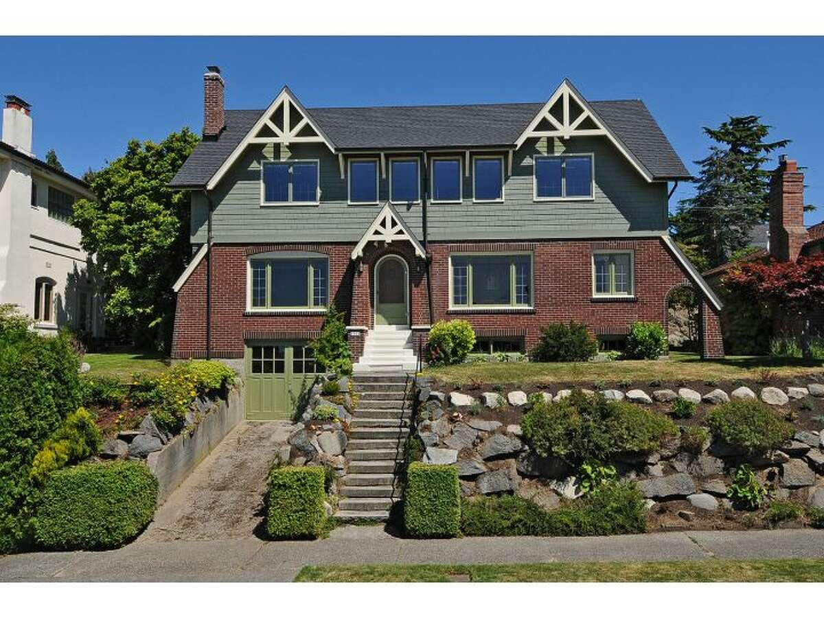 Here's a big, unique 1931 house in West Seattle with tons of character and mountain and sound views. The house is 3,700 square feet, with four bedrooms, 2.75 bathrooms, a family room, radiators, and exposed wood moldings and picture rails. It sits on a 6,000-square-foot lot at 1914 48th Ave. S.W. and is listed for $965,000. (Listing: www.windermere.com/index.cfm?fuseaction=listing.listingDetailUpdated&listingID=130402648)