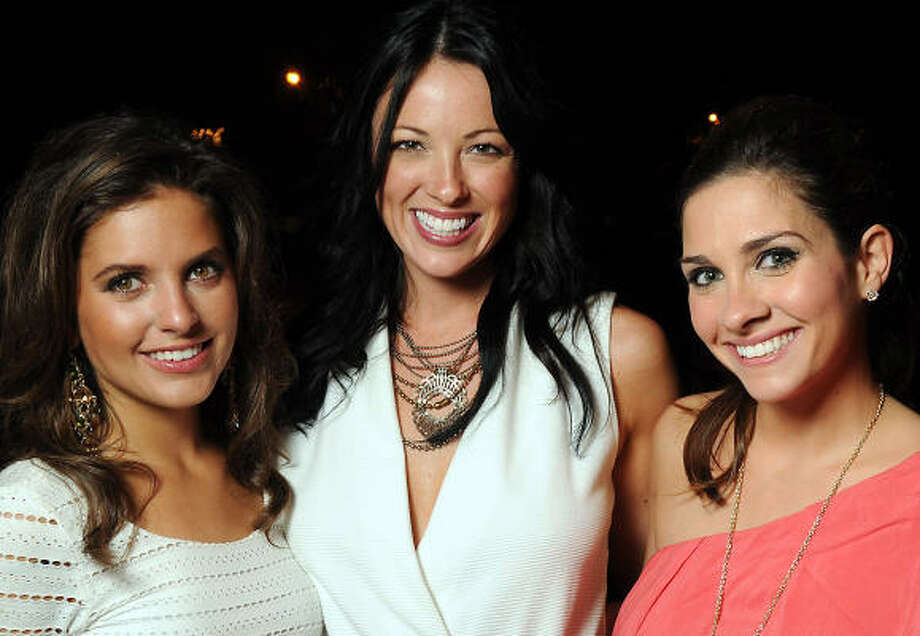 Danielle DiCesare, Wren Grabowski and Blair Conner Photo: Dave Rossman, For The Chronicle
