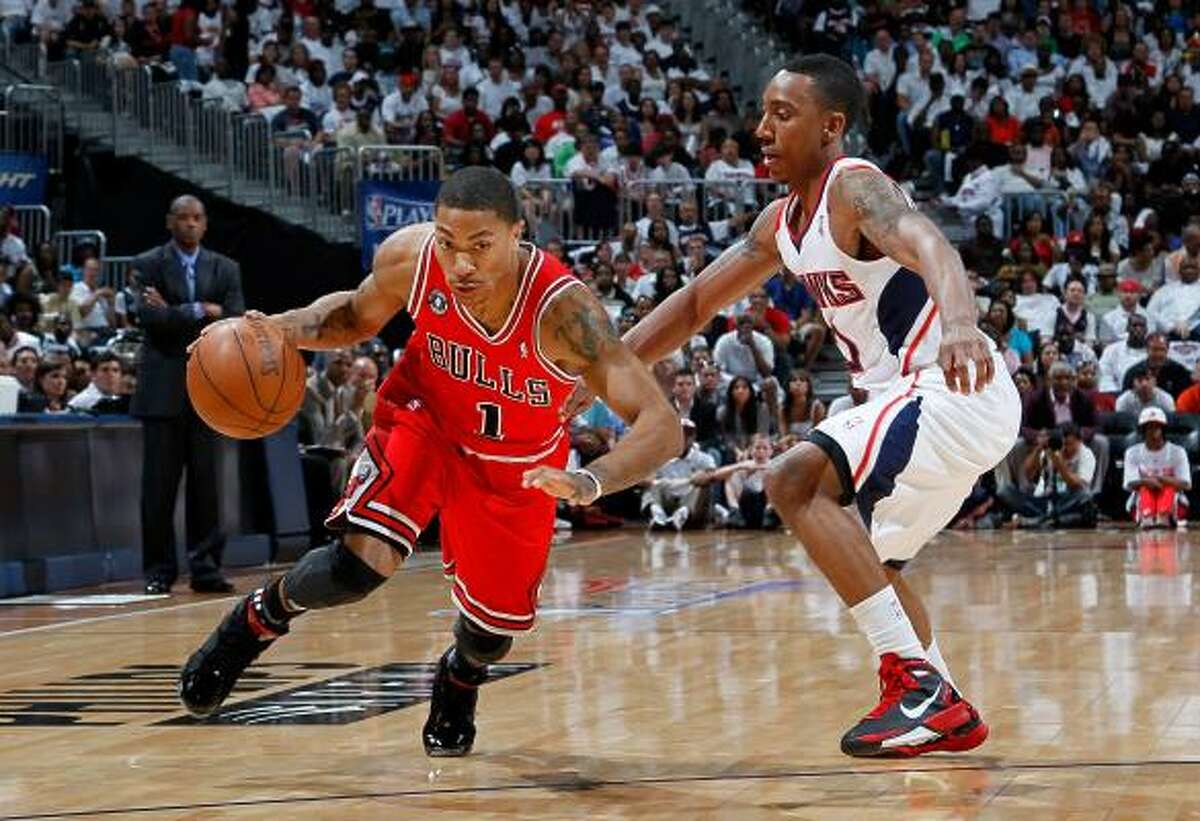 Chicago Bulls guard and league MVP Derrick Rose, left, was one of the big names to headline the 2010-11 All-NBA team. Click to see the other members of the All-NBA team.