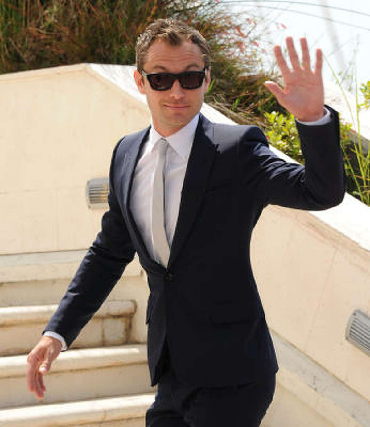 Jury Member Jude Law attends the Jury Photocall at the Palais des Festivals during the 64th Cannes Film Festival on May 11, 2011 in Cannes, France.