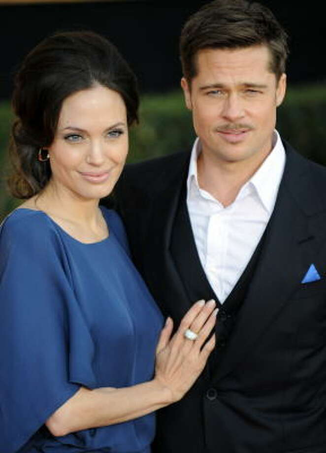 Angelina Jolie and Brad Pitt:Kids' names: Maddox Chivan, Zahara Marley, Shiloh Nouvel, Pax Thien, Knox Leon and Vivienne Marcheline Photo: JEWEL SAMAD, AFP/Getty Images