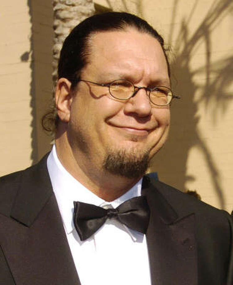 Penn Jillette:Kids' names: Moxie CrimeFighter and Zolten Photo: CHRIS PIZZELLO, AP