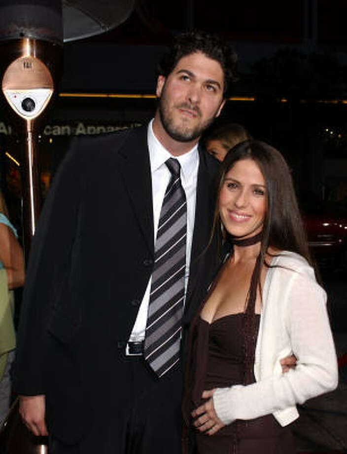 Soleil Moon Frye and Jason Goldberg:Kids' names: Poet Sienna Rose and Jagger Joseph Blue Photo: TAMMIE ARROYO, AP
