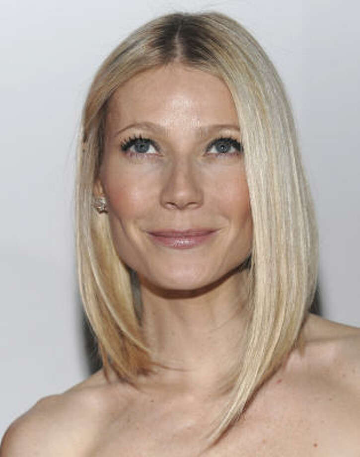 Gwyneth Paltrow (and Chris Martin):Kids' names: Apple and Moses. Photo: Evan Agostini, AP