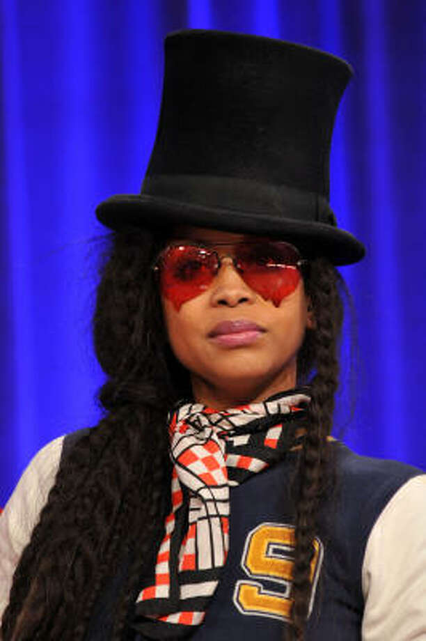 Erykah Badu:Kids' names: Seven Sirius, Puma Sabti and Mars Merkaba Photo: Bryan Bedder, Getty Images