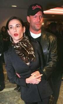 Demi Moore and Bruce Willis:Kids' names: Rumer Glenn, Scout LaRue and Tallulah Belle Photo: E.J. FLYNN, AP